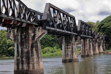 ferrocarril de la muerte en Tailandia